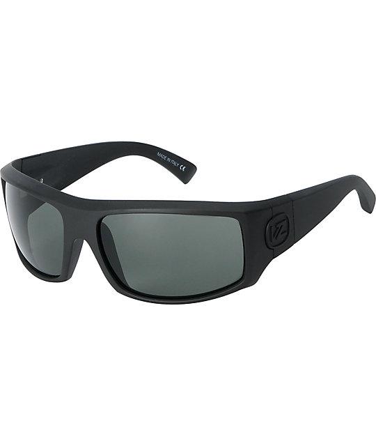 Von Zipper Clutch Black Satin Sunglasses