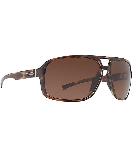 Von Zipper Decco Tortoise & Bronze Sunglasses