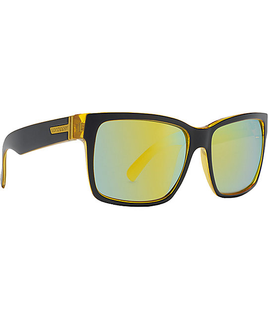 Von Zipper Elmore Banana Bake & Chrome Sunglasses