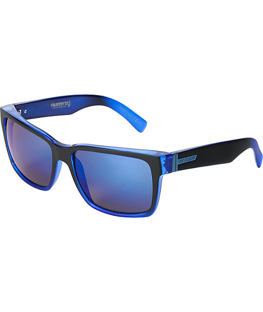 Von Zipper Elmore Frostbyte Blue & Astro Glo Sunglasses