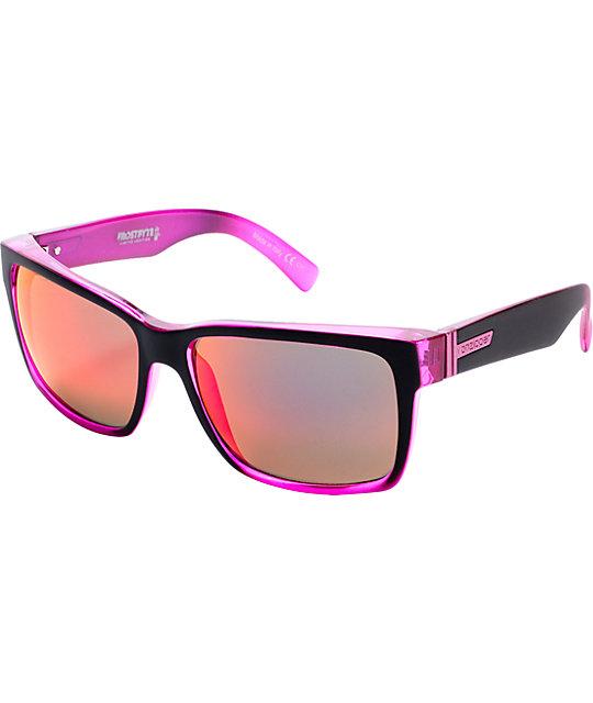 Von Zipper Elmore Frostbyte Pink Permafrost Sunglasses