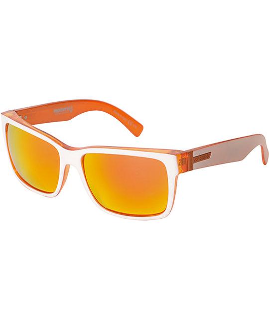 Von Zipper Elmore Frostbyte White Tang Sunglasses