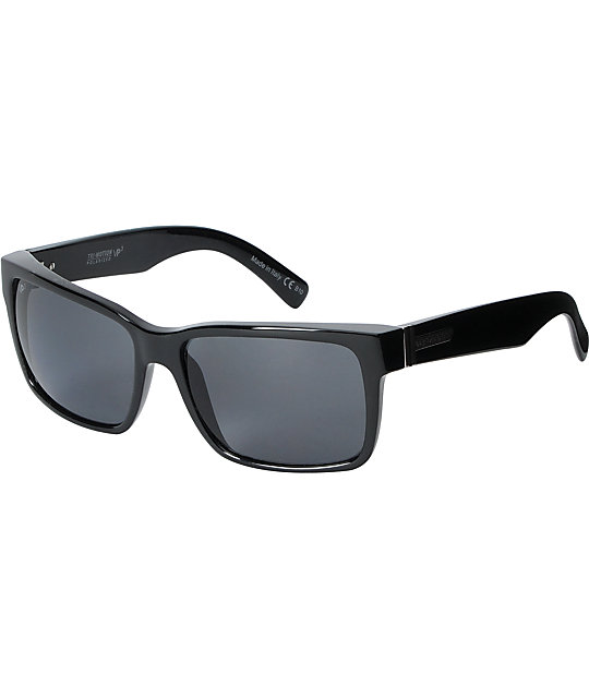 Von Zipper Elmore Gloss Black Polarized Sunglasses