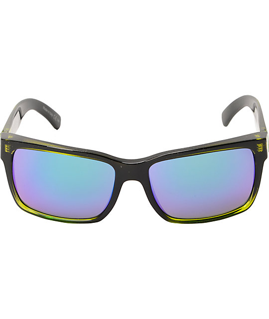 Von Zipper Elmore MindGlo Lime Green Sunglasses