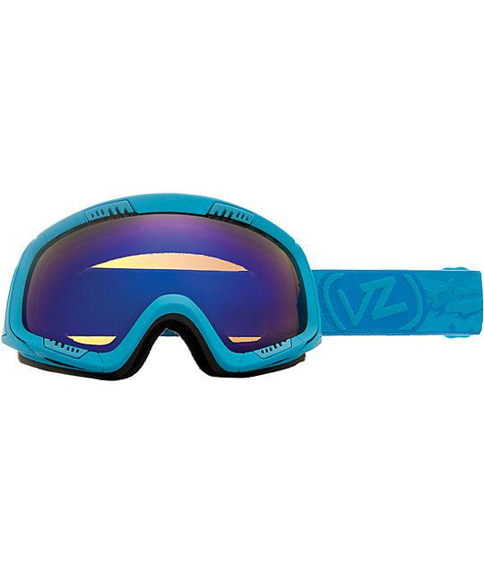 Von Zipper Feenom Blue Satin & Astro Chrome Goggle