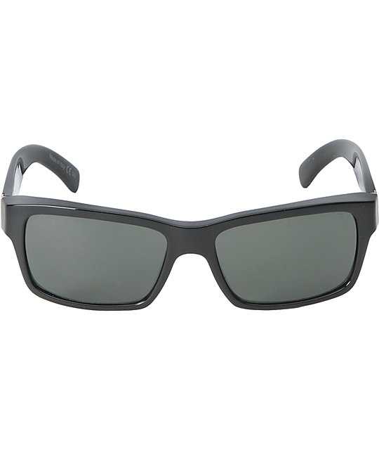Von Zipper Fulton Black Glass & Grey Sunglasses