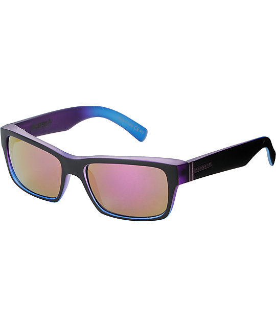 Von Zipper Fulton Plooble Dip & Kosmic Chrome Sunglasses