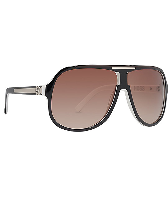 Von Zipper Hoss Black, White & Gradient Sunglasses