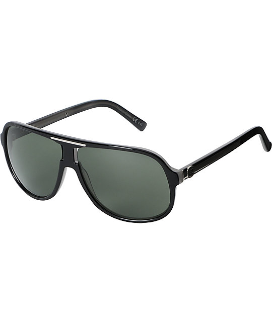 Von Zipper Hoss Black Gloss Sunglasses