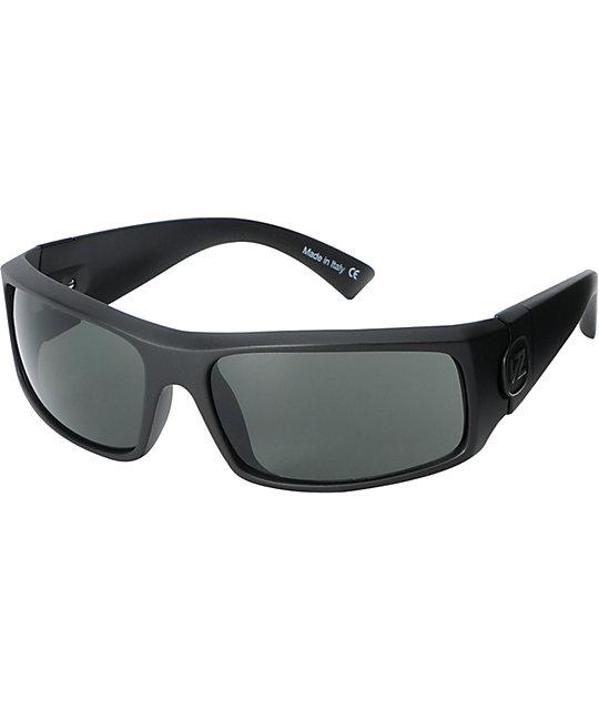 Von Zipper Kickstand Grey Satin Sunglasses