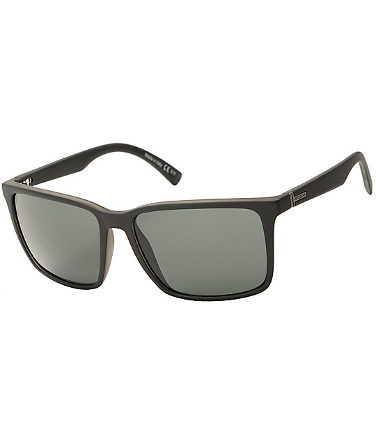 Von Negro Y De Sol Gafas Lesmore Gris En Satén Zipper Antiguo Ac35RLj4q