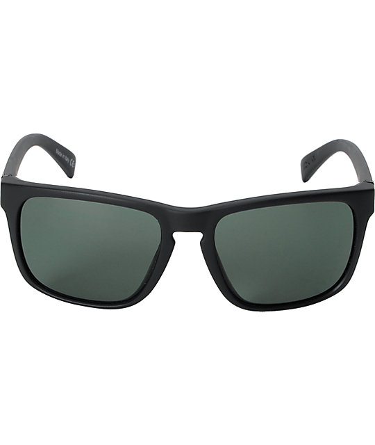 Von Zipper Lomax Black Gloss & Vintage Grey Sunglasses