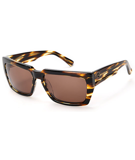Von Zipper Mustafa Tortoise & Bronze Sunglasses