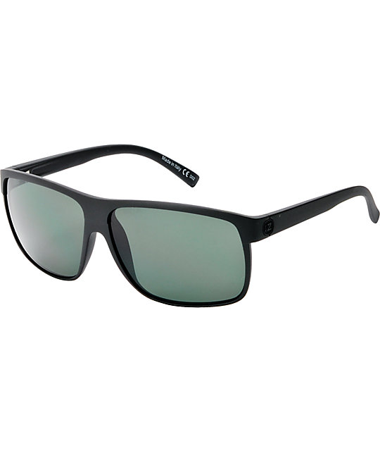 Von Zipper Sidepipe Black Satin Sunglasses