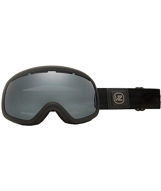 Von Zipper Skylab Black Satin Goggle