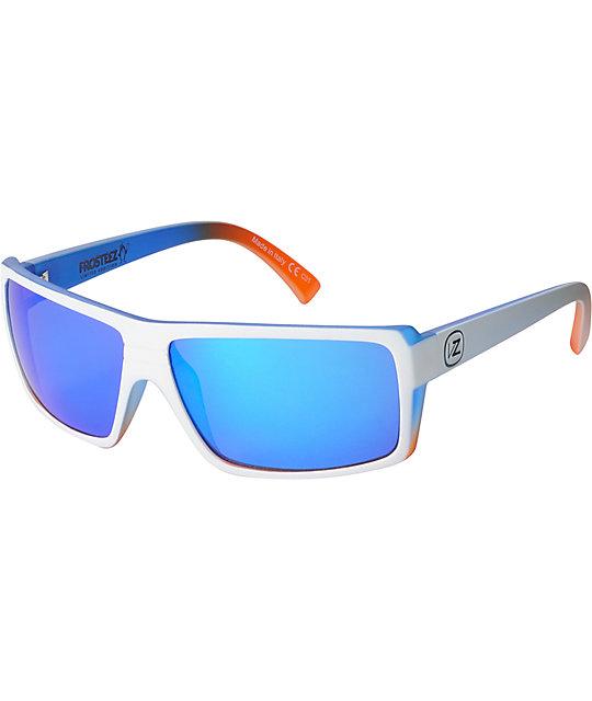 Von Zipper Snark Frosteez Astro Chrome & Vanilla Ranga Sunglasses