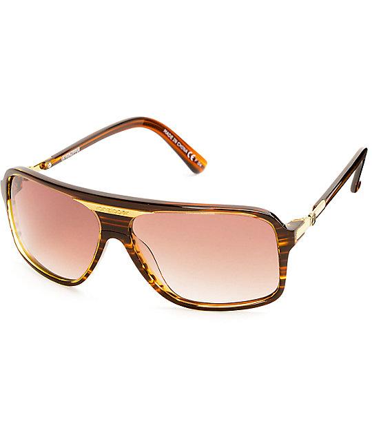 Von Zipper Stache Tortoise Brown Gradient Sunglasses
