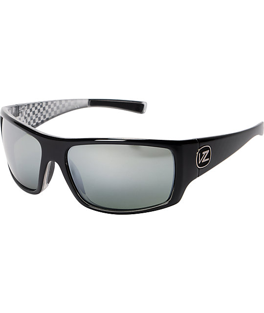 Von Zipper Suplex Black & Grey Chrome Sunglasses