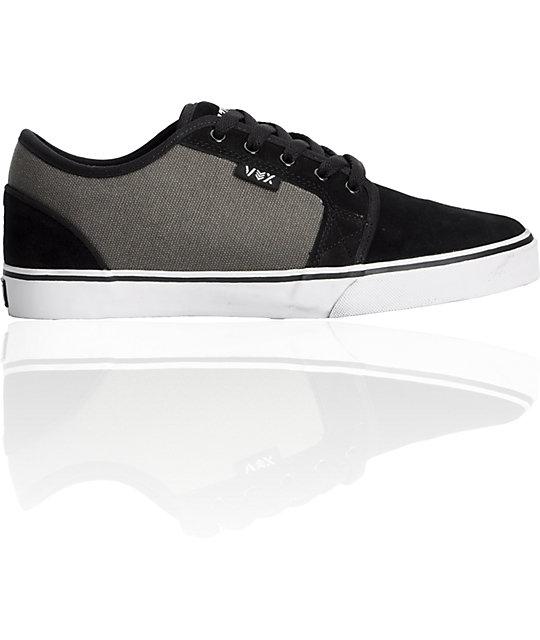 Vox Deuce Black & Grey Shoes