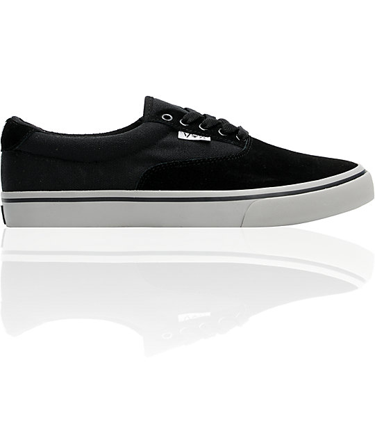 Vox Savey Blackout & Grey Skate Shoes