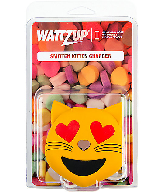 Wattz Up Smitten Kitten Power Bank cargador portátil