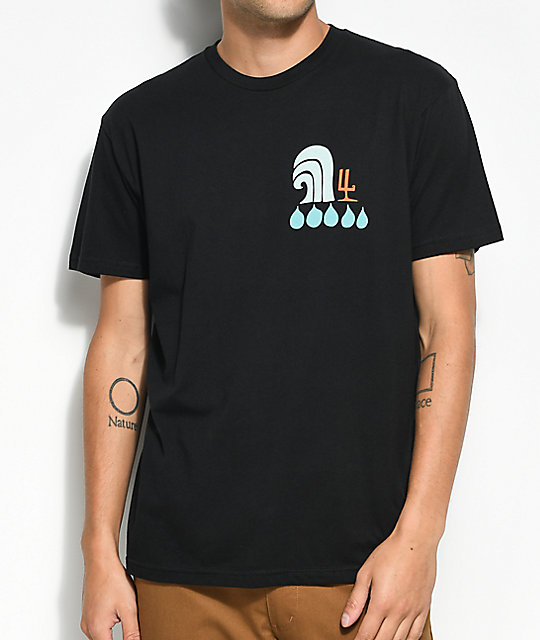 Waves For Water x  Andy Davis camiseta negra