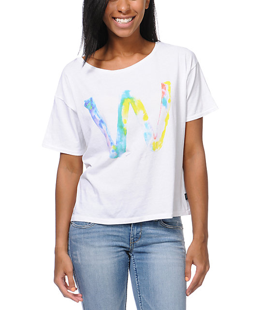 WeSC Aquarelle Dub White T-Shirt