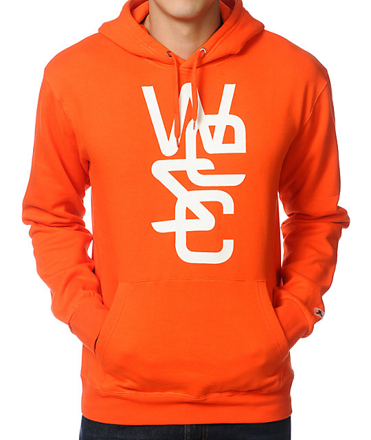 WeSC Icon Orange Pullover Hoodie
