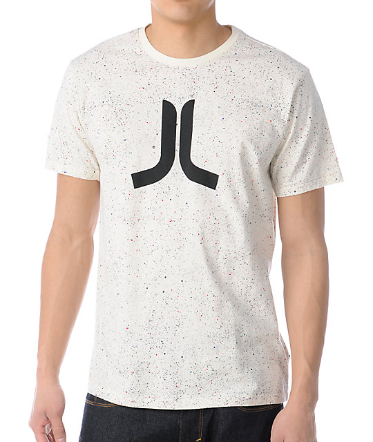 WeSC Lost In Space Creme T-Shirt