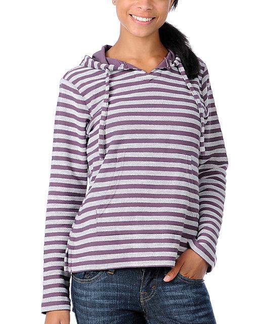 Wear Wash Repeat Elite Purple Elite Stripe Poncho