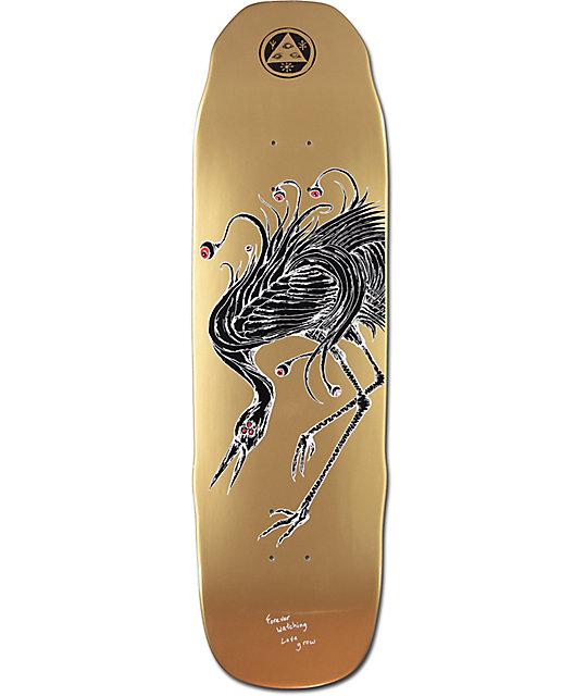 "Welcome Love Watcher Sledgehammer 9.0"" Skateboard Deck"