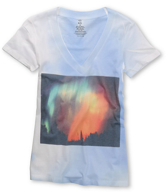 Word Of Mouth Aurora Sublimated Blue T-Shirt