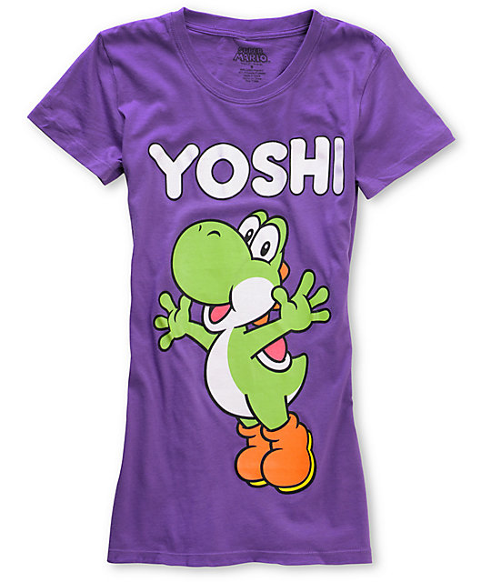 Word Of Mouth Yoshi Purple T-Shirt