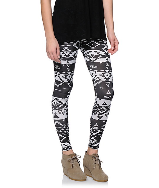 Shop Now - A massive selection of the best black and white leggings online at the lowest prices for leggings online.