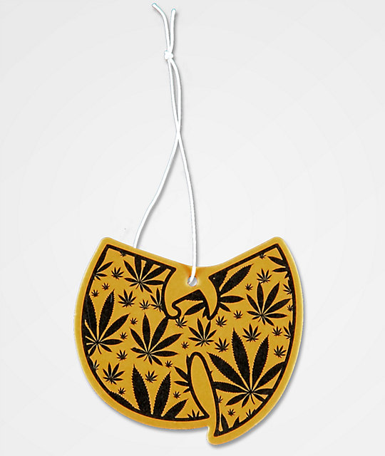Wu-Tang Leaf Pattern Air Freshener