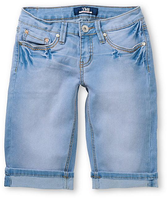 YMI April Bermuda 12 Jean Shorts