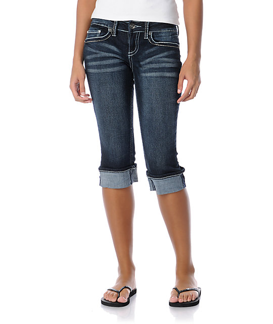 YMI Becca Cropped Jeans