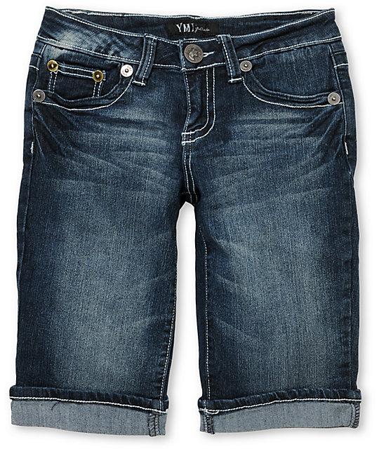 YMI Jennifer Bermuda Jean Shorts