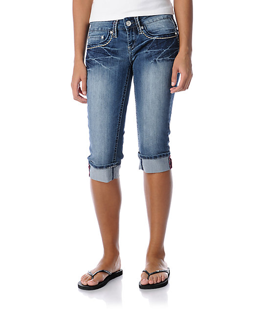 YMI Jessica Cropped Jeans