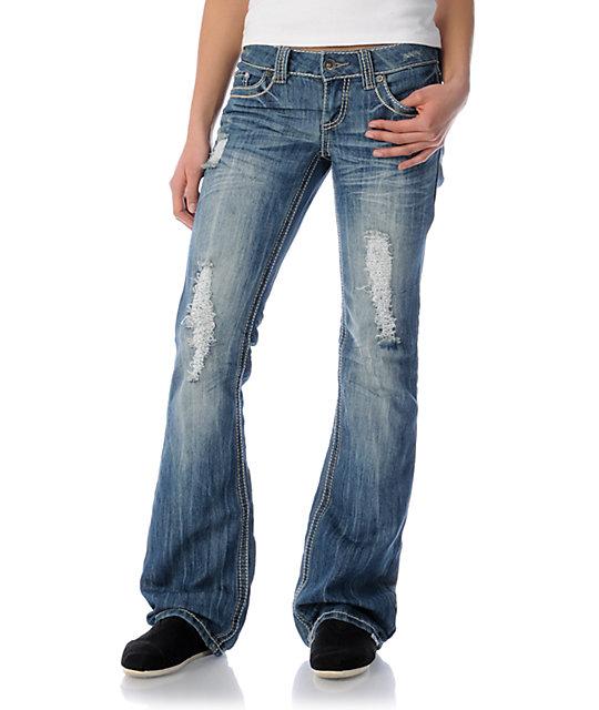 YMI Megan Bootcut Jeans