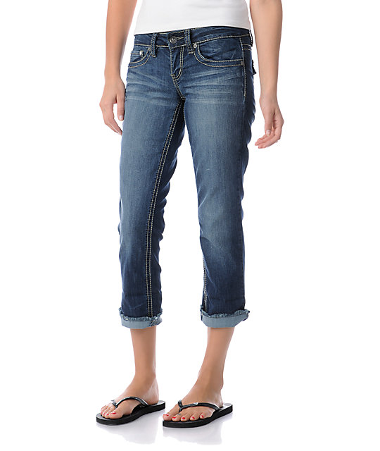 YMI Melissa Cropped Jeans