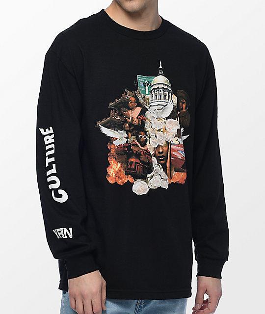 Culture Album Black Long Sleeve T-Shirt