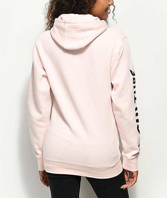 YRN Culture Light Pink Hoodie
