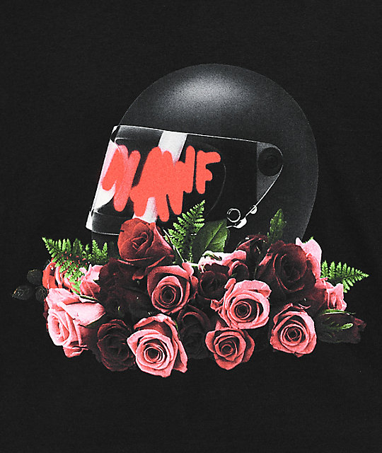 YRN Nawf Side Black T-Shirt