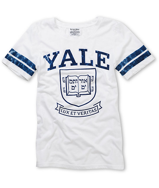 Yale Bulldogs Crew College Football T-Shirt