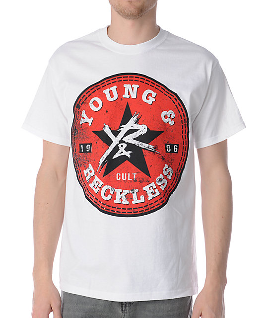 Young & Reckless All Star White T-Shirt