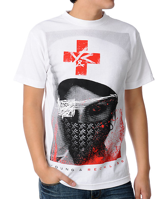 Young & Reckless Nurse White T-Shirt