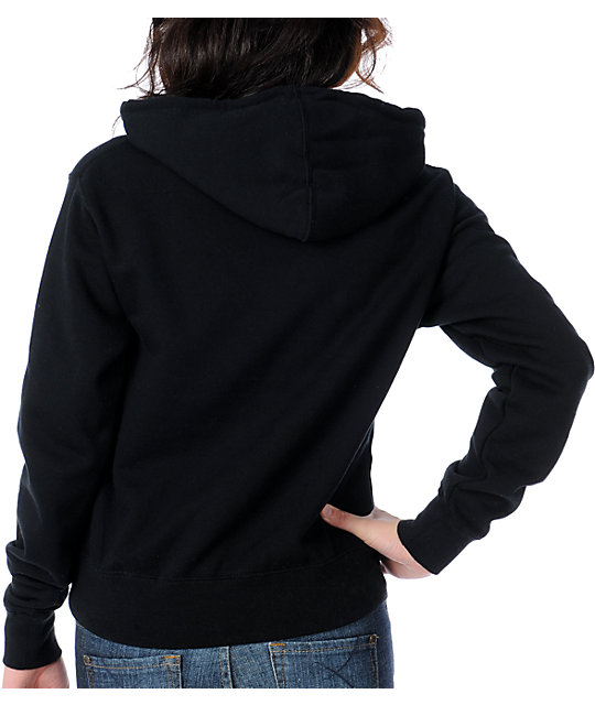 Young & Reckless Stacked Black Pullover Hoodie