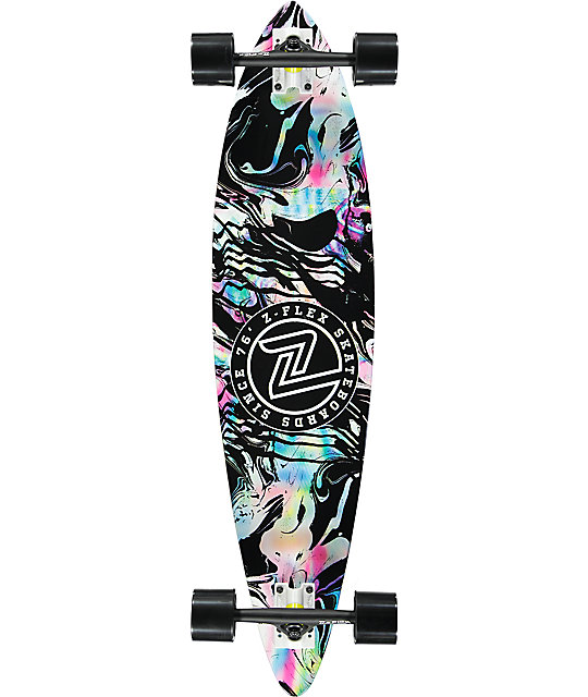 Z-Flex Acid Swirl Black 38