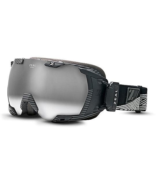 Zeal Z3 GPS 2014 Quantum Black Snowboard Goggles